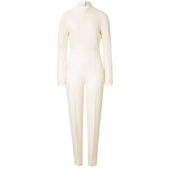combinaison blanche emilia wickstead 30 combinaisons blanches pour moderniser la robe de. Black Bedroom Furniture Sets. Home Design Ideas