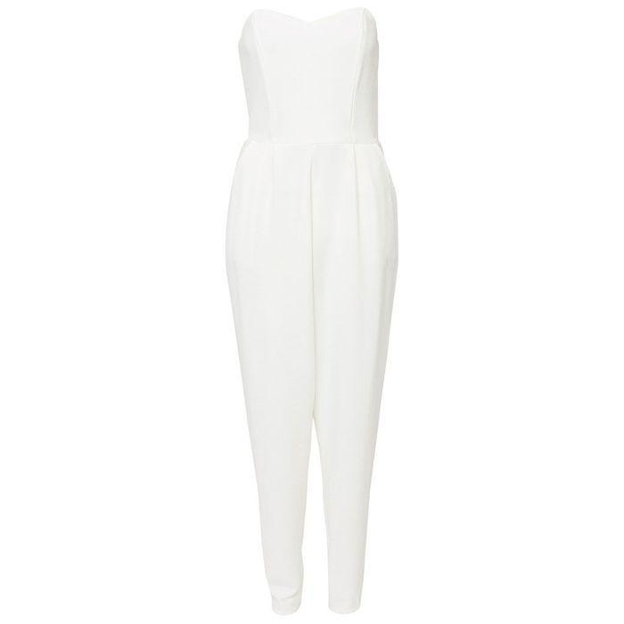 combinaison blanche nelly 30 combinaisons blanches pour moderniser la robe de mari e elle. Black Bedroom Furniture Sets. Home Design Ideas