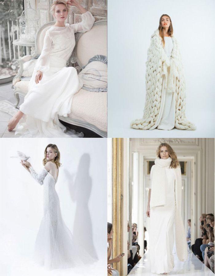 robe de mari e hiver notre s lection des plus belles robes pour un mariage en hiver elle. Black Bedroom Furniture Sets. Home Design Ideas