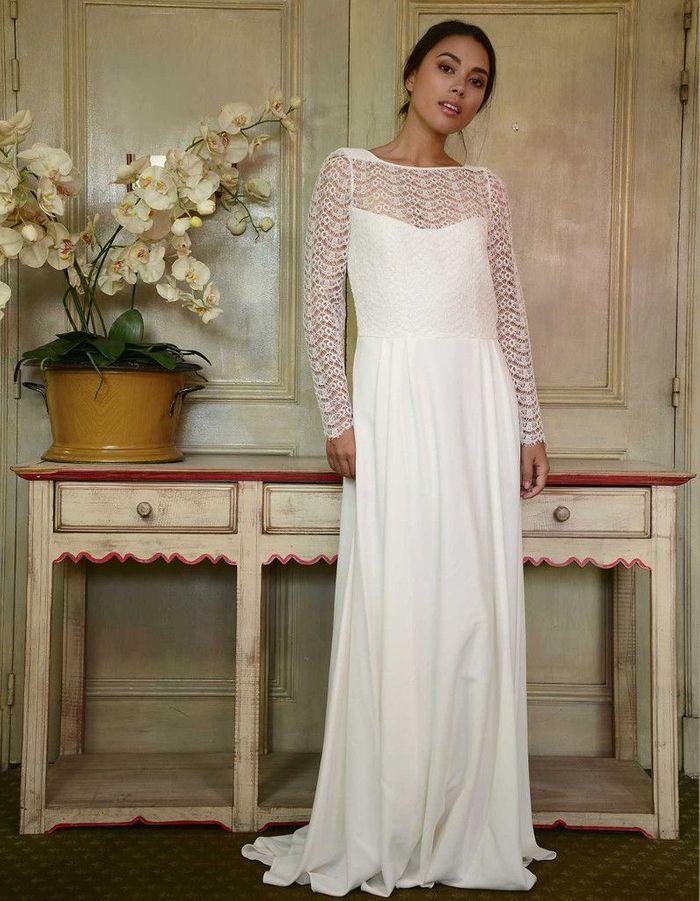 robe de mari e d 39 hiver bi mati re 22 robes de mari e d hiver blouissantes elle. Black Bedroom Furniture Sets. Home Design Ideas