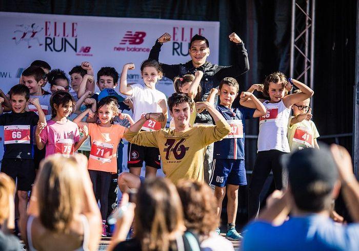 Les participants à la ELLE RUN Kids by Gulli, plus motivés que jamais