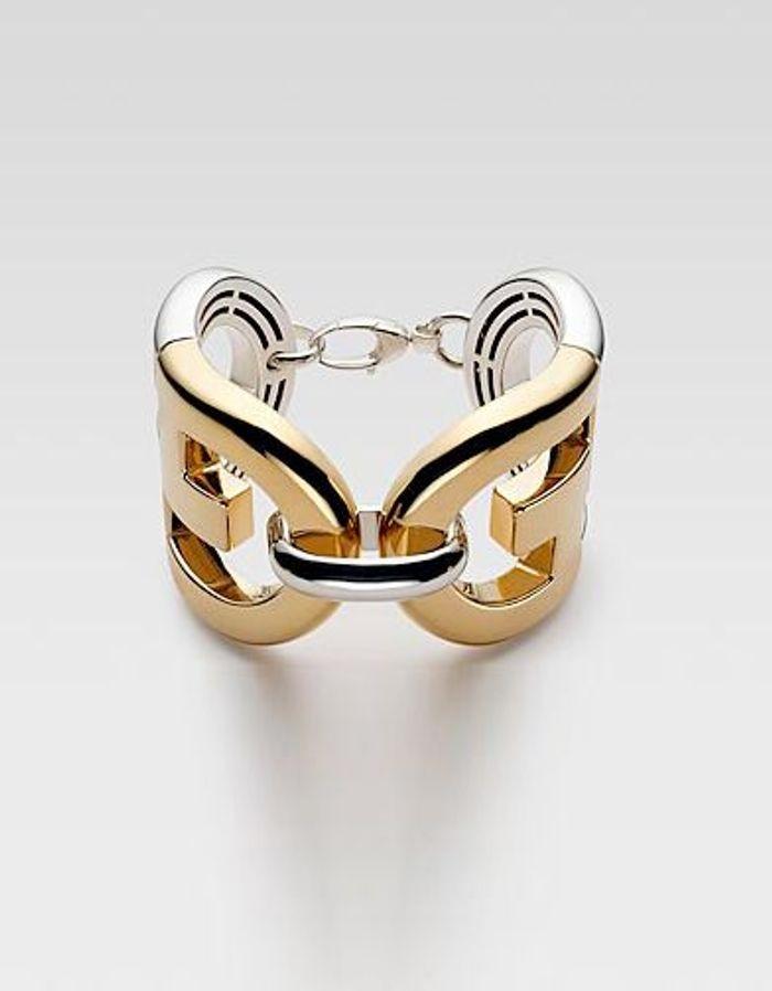 mode guide shopping bijoux joaillerie luxe bracelet manchette gucci bracelets extra larges. Black Bedroom Furniture Sets. Home Design Ideas