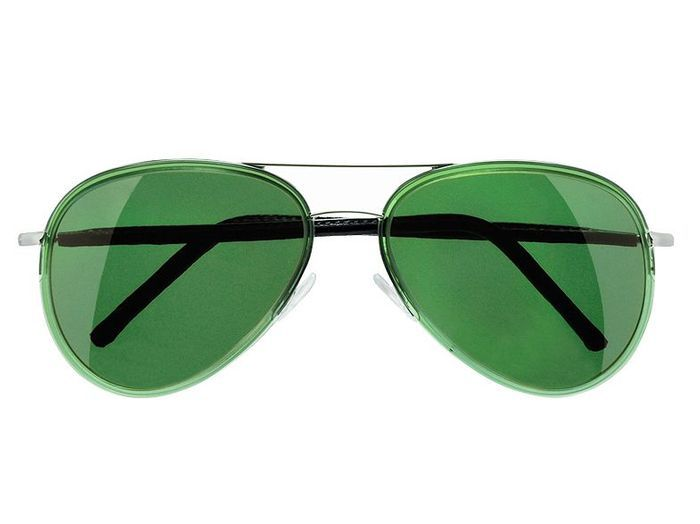 Mode tendance guide shopping lunettes visage carre aviator verte culter and gross