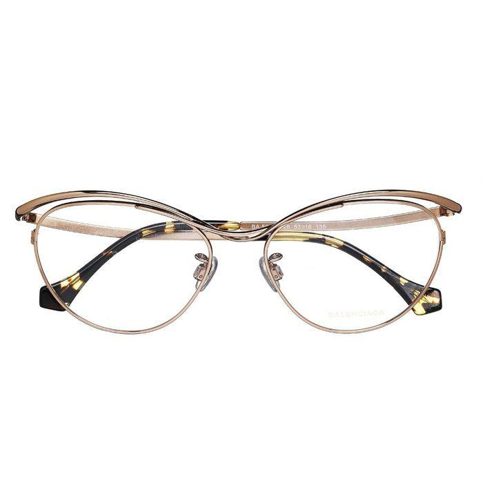 lunettes de vue balenciaga 8 paires de lunettes pour femmes qui nous font de l 39 oeil elle. Black Bedroom Furniture Sets. Home Design Ideas
