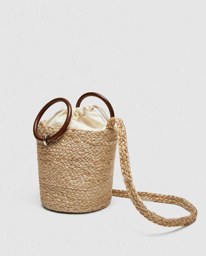 Mini sac seau Zara
