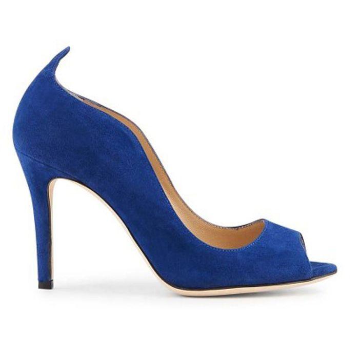 Escarpins Bleus Bleu