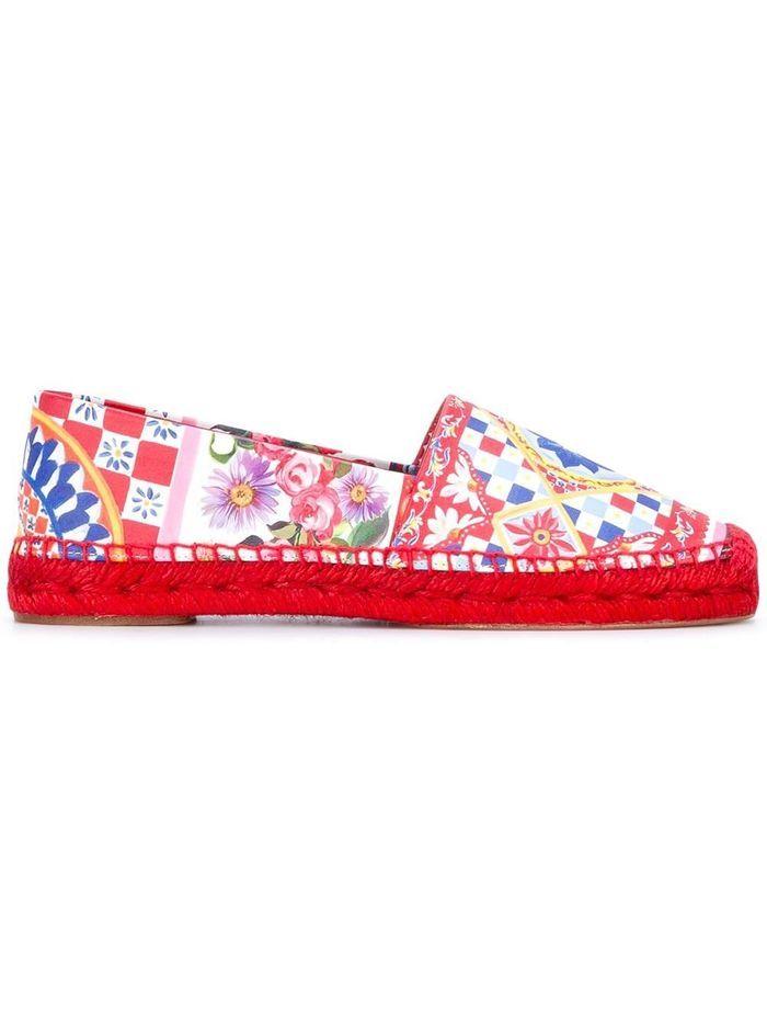Espadrilles colorées Dolce & Gabbana