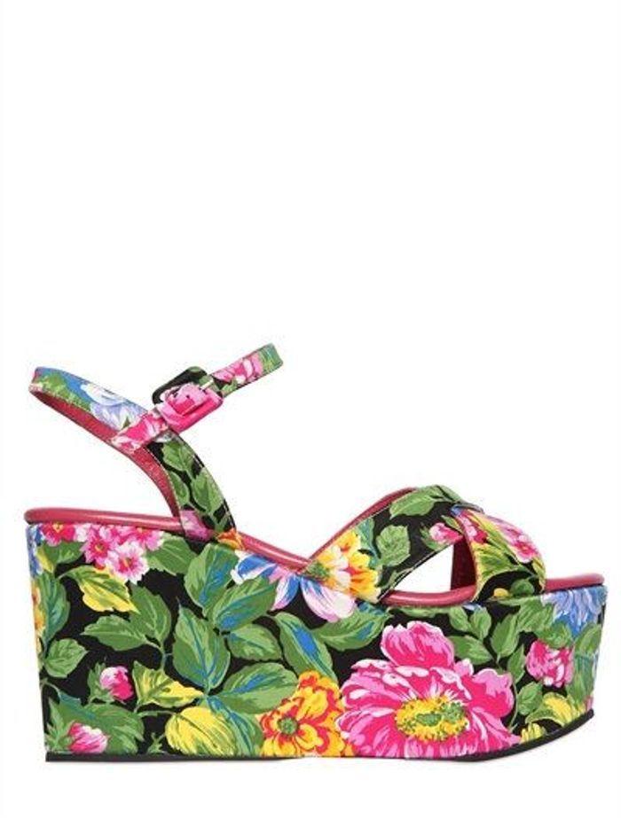 Sandales compensées Massimo Lonardo