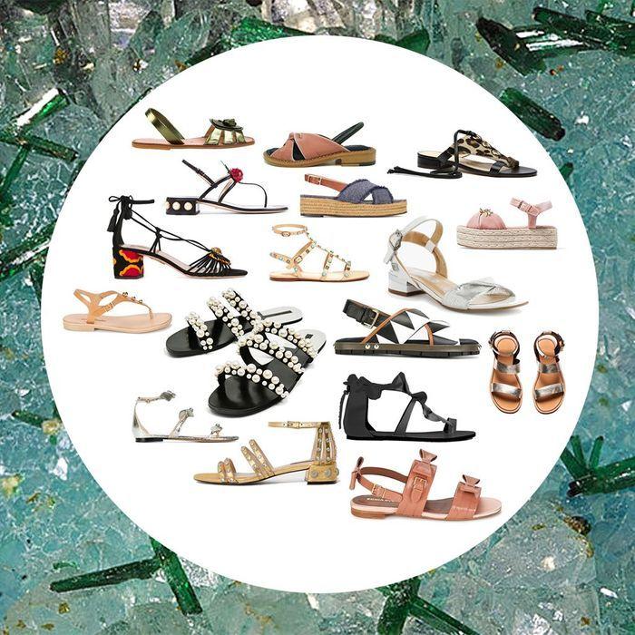 On veut toutes des sandales plates !