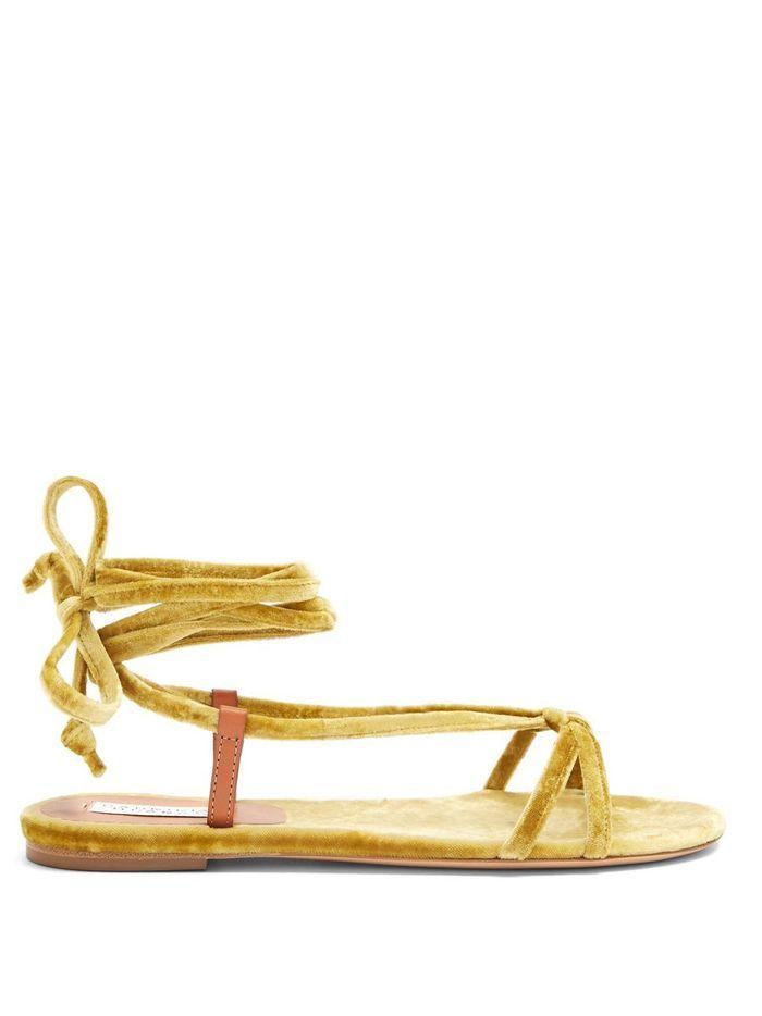 Sandales plates Gabriela Hearst sur Matchesfashion