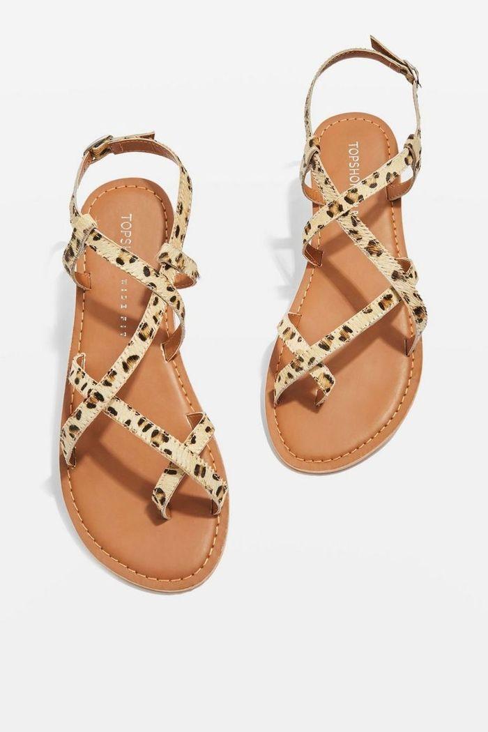 Sandales plates Topshop