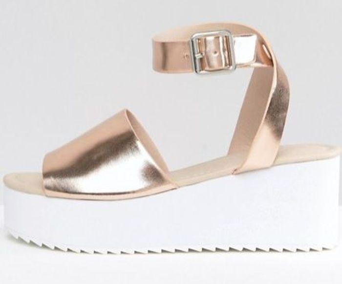 Sandales à plateforme Asos