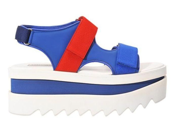 Sandales à plateforme Stella McCartney
