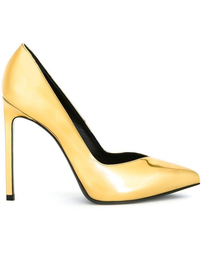 chaussures sold es saint laurent 45 paires de chaussures. Black Bedroom Furniture Sets. Home Design Ideas
