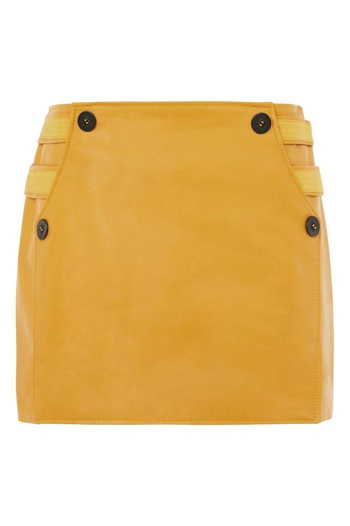 Jupe jaune safran Topshop