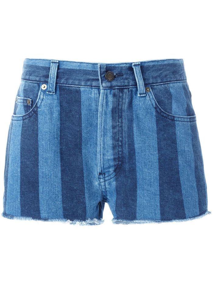 Short en jean Saint Laurent