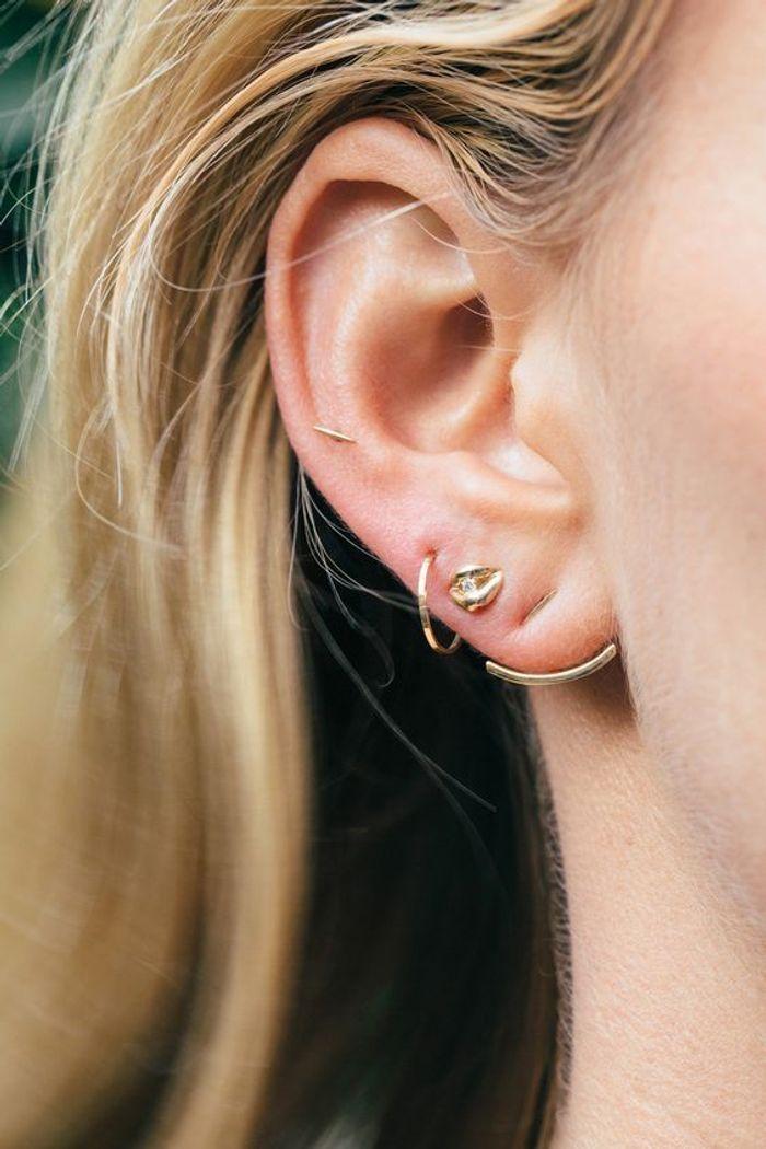 piercing oreille élégant pourquoi le piercing d 39 oreille