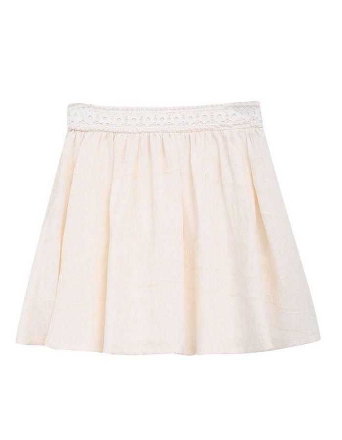 jupe blanche pliss e color block 20 jupes blanches pour amorcer l 39 t elle. Black Bedroom Furniture Sets. Home Design Ideas