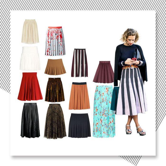 Jupe plissée : 20 jupes plissées automne-hiver 2016