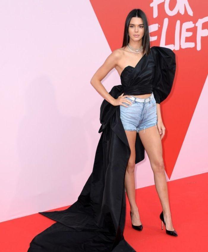 Kendall Jenner en Sergio Rossi