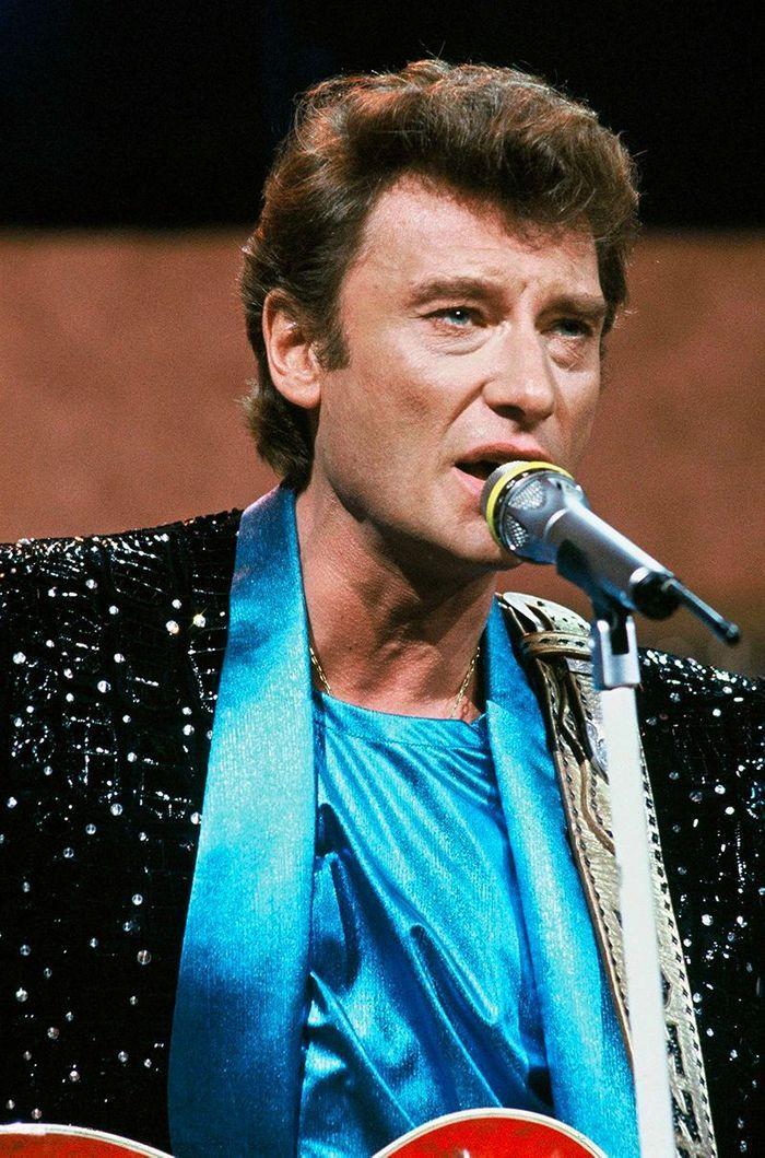 Johnny Hallyday en 1984