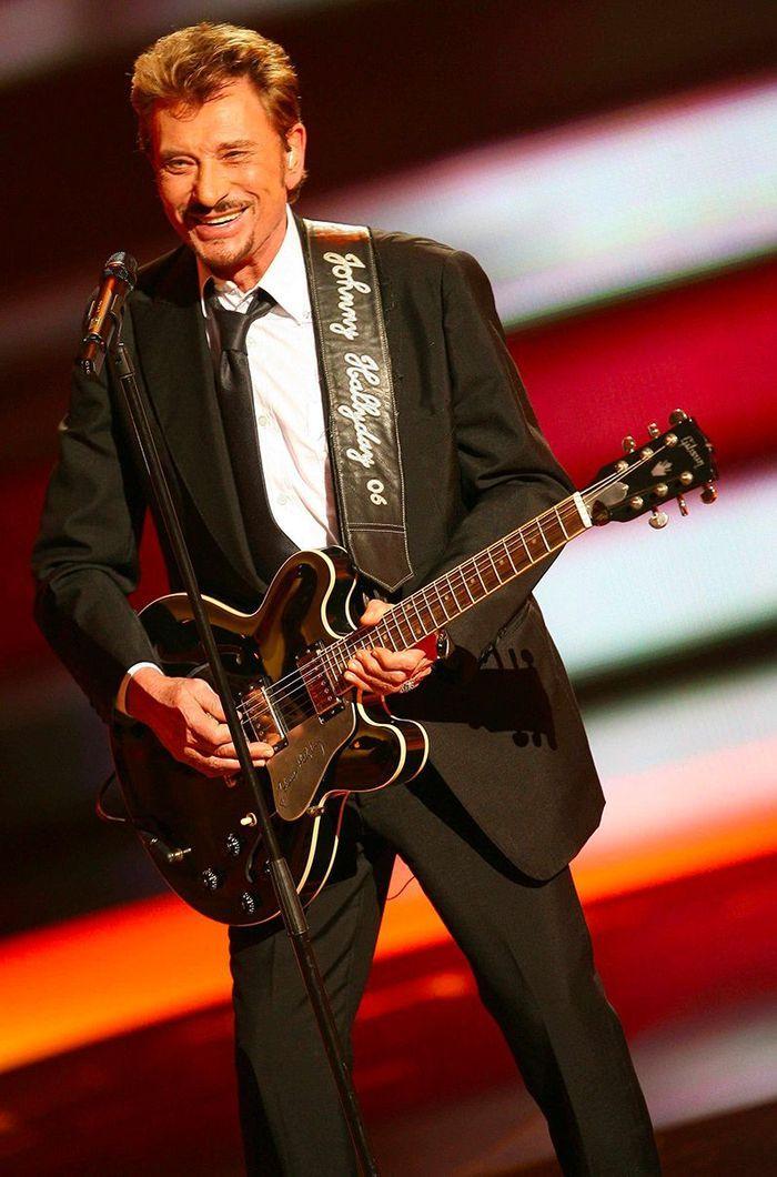 Johnny Hallyday en 2008