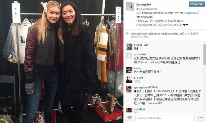 Liu wen les 101 comptes instagram suivre pendant la fashion week elle - Qui suivre sur instagram ...