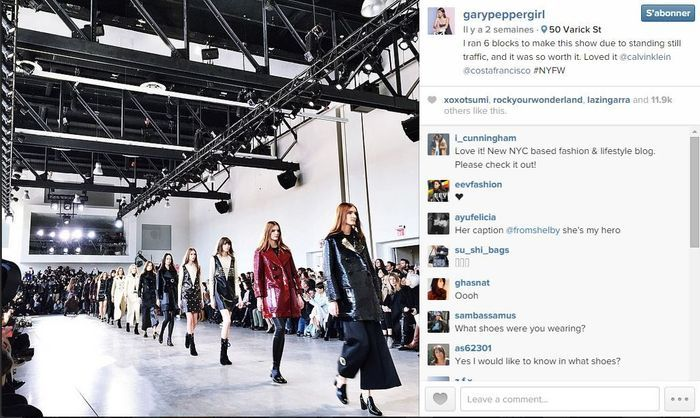 Nicole warne les 101 comptes instagram suivre pendant la fashion week elle - Qui suivre sur instagram ...