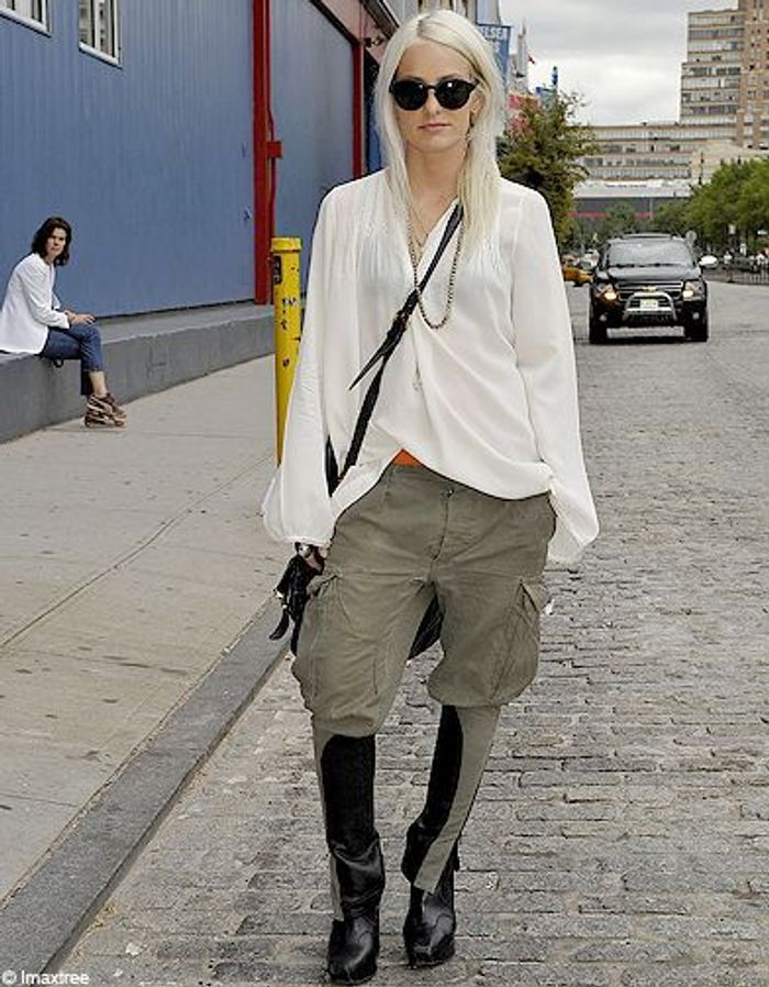 3mode Defiles New York Street Style Chemise Blanche Fashion Week Les New Yorkaises Font Leur