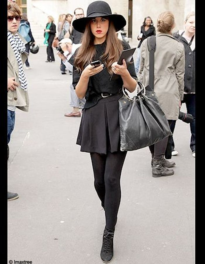 Mode Street Style Fashion Week Paris 20 Les Fashionistas