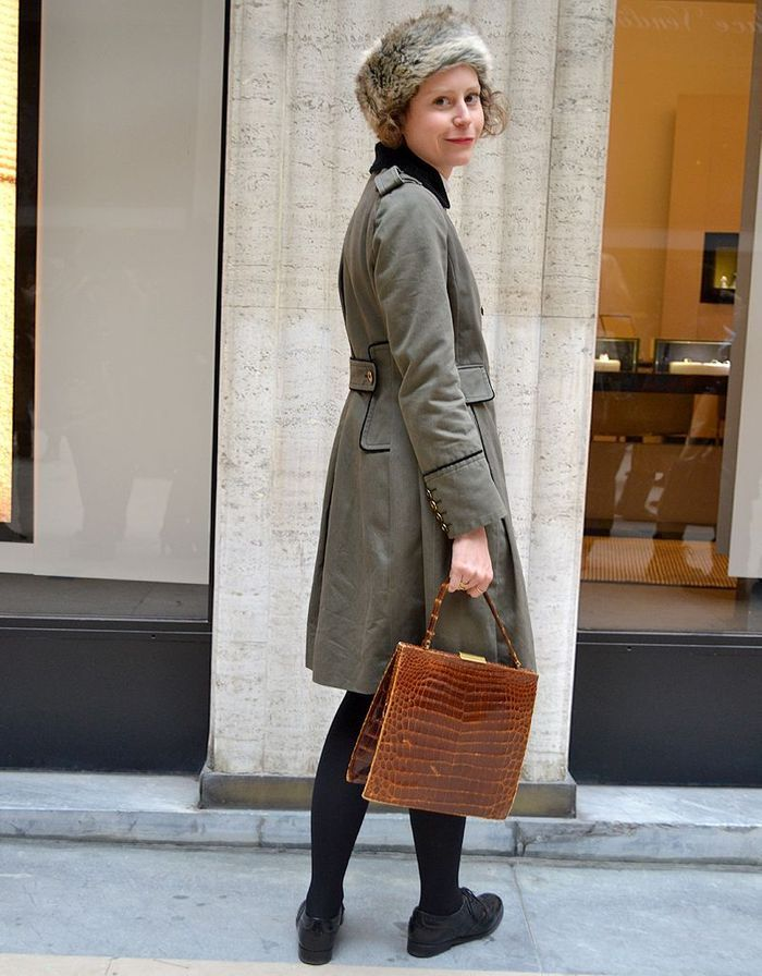 Elvire Emptaz Street Style Fashion Week Street Style