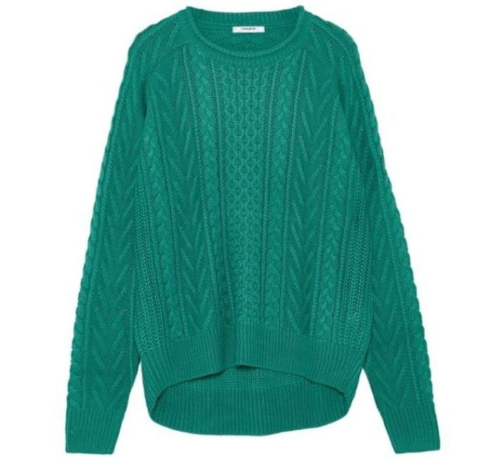 Pull Pull and Bear vert