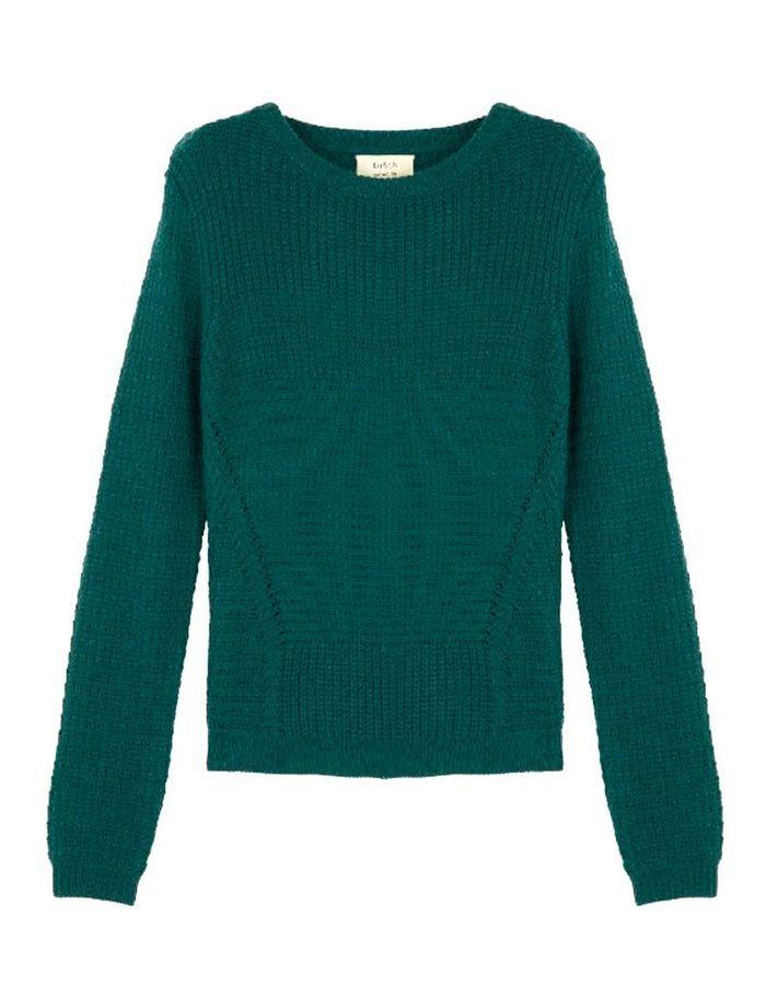 pull en laine femme bash 30 pulls en laine pour tre au chaud tout l hiver elle. Black Bedroom Furniture Sets. Home Design Ideas
