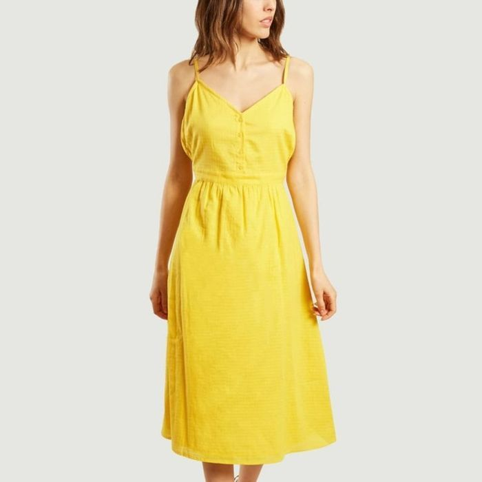 Robe jaune Jolie Jolie