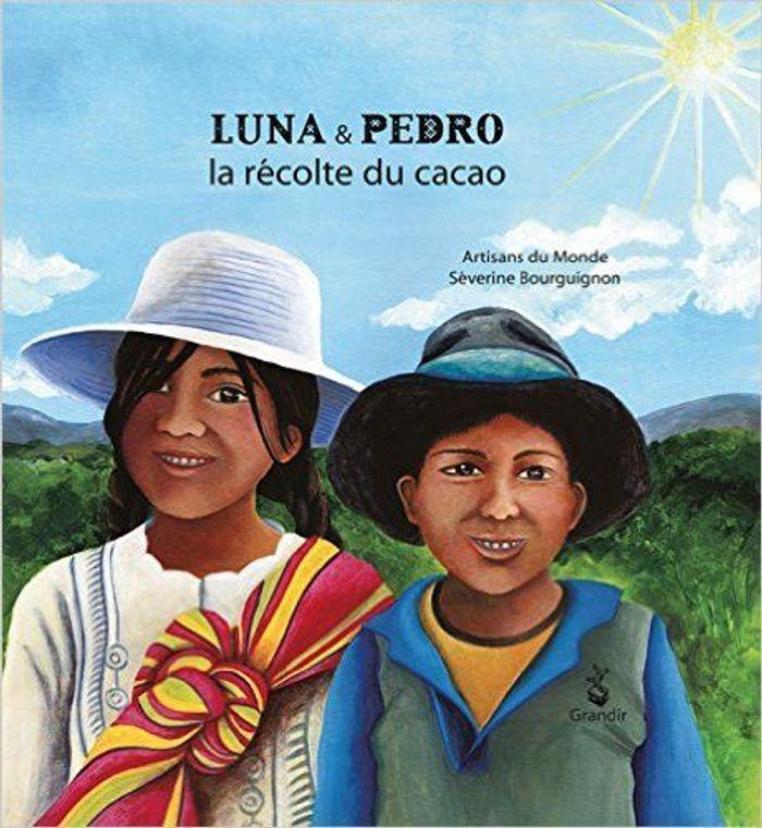 « Luna et Pedro, la récolte du cacao » des artisans du Monde-Gard et Séverine Bourguignon