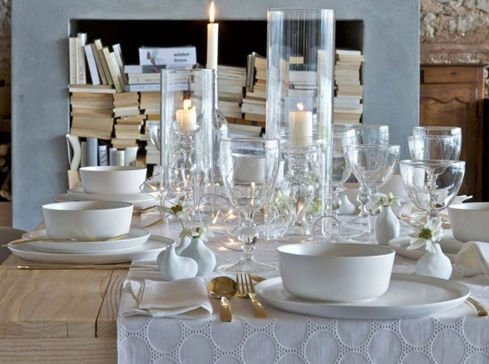 40 jolies tables de f te elle - Deco tables de noel ...