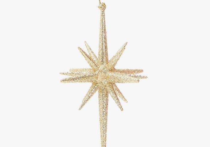Boule de Noël en forme d'étoile