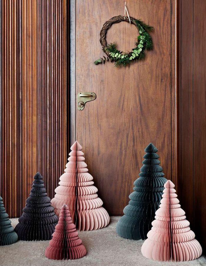 Tendance le faux sapin de no l elle - Sapin de noel decoration tendance ...