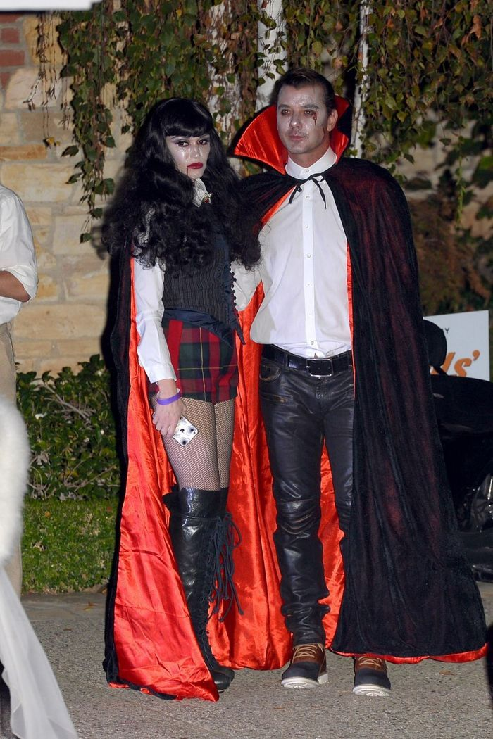 le costume de gwen stefani et gavin rossdale les meilleurs costumes d halloween de stars elle. Black Bedroom Furniture Sets. Home Design Ideas