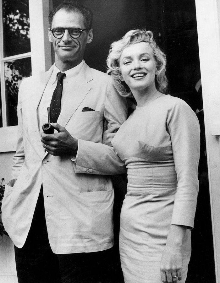 Marilyn Monroe et Arthur Miller - 50 couples mythiques (ou ...