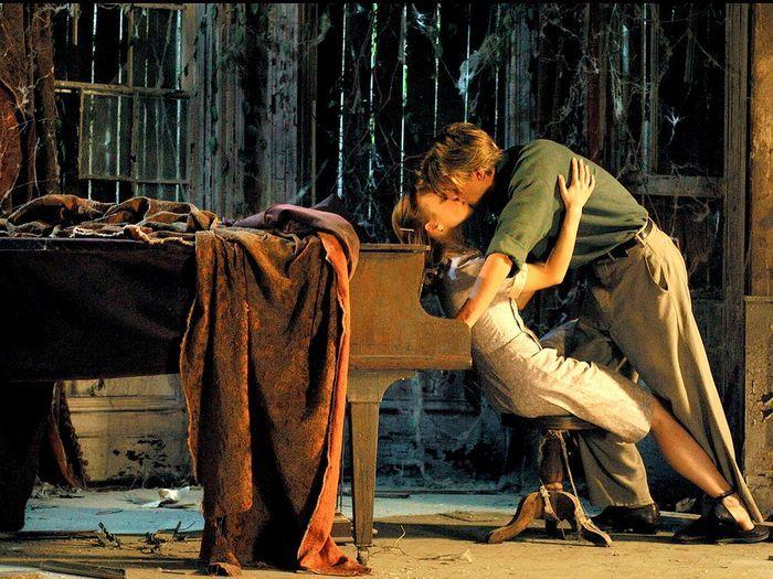 Avec Rachel McAdams dans «N'oublie jamais» de Nick Cassavetes (2004).