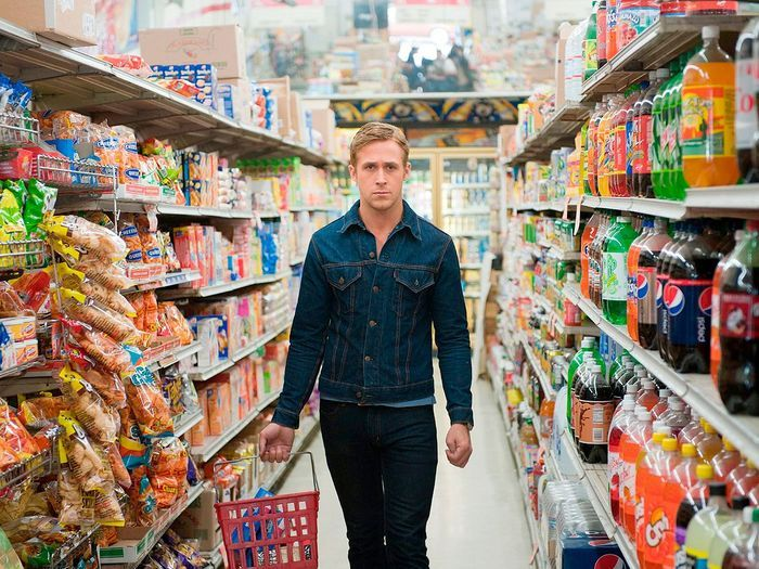 «Drive» de Nicolas Winding Refn (2011), supermarché