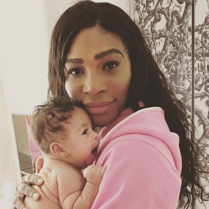 La fille de Serena Williams
