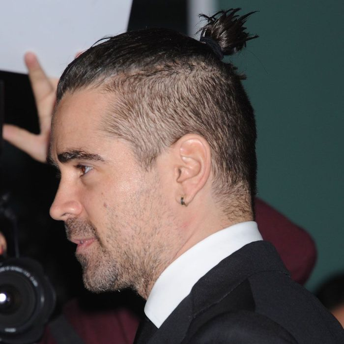 Colin Farrell Hommes chignon et queue de cheval On aime ou on