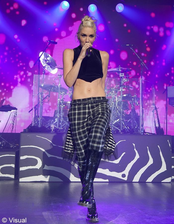 gwen stefani notre top 50 des personnalit s qui ont marqu 2012 elle. Black Bedroom Furniture Sets. Home Design Ideas