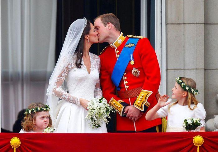 Will & Kate au Balcon de Buckingham Palace