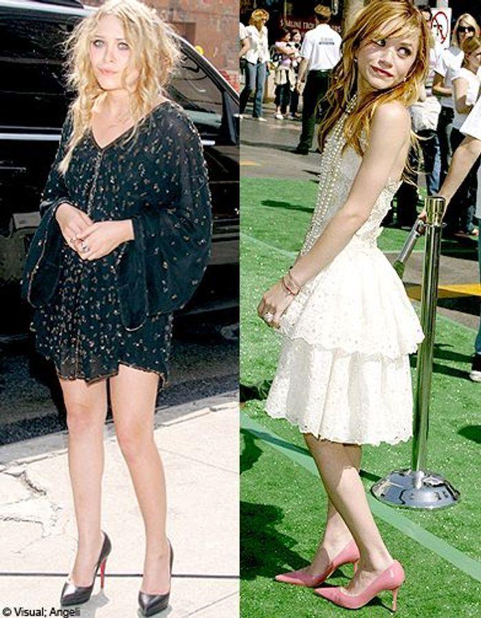 Anorexie d'une photo de célébrité