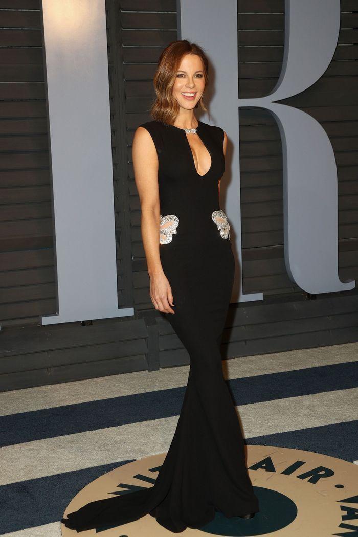 Kate Beckinsale en Reem Acra