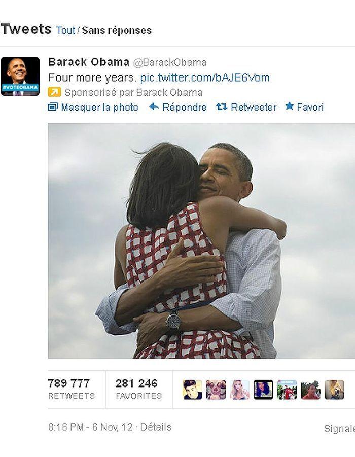 Le tweet le plus retweeté de l'histoire