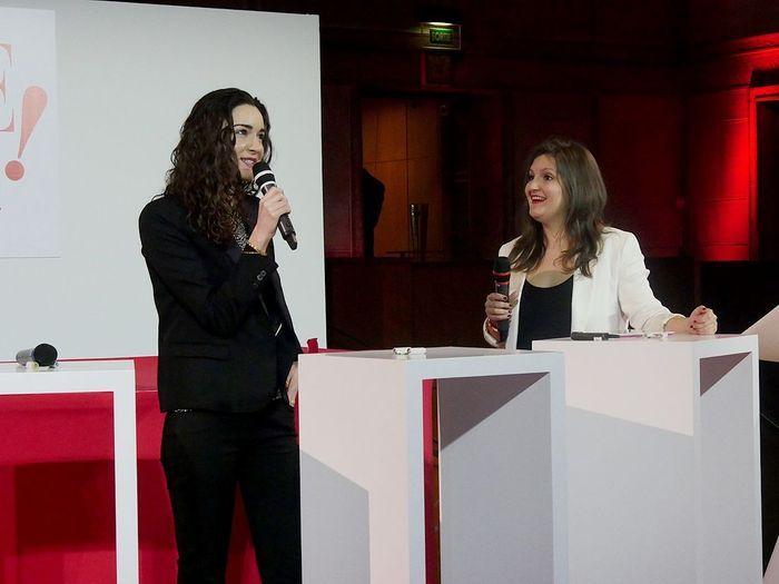 Roxanne Varza et Clémence Leveau